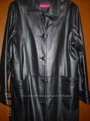 Женская демисезонная куртка  нат. кожар. 56-58