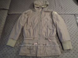 Куртка курточка парка теплая молодежная Р 48-50 две в одной