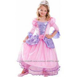 Прокат карнавального костюма гламурной принцессы. 4-6, 8-10 и 10-12 лет.