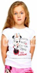 Футболка Disney для девочки 3 и 6 лет