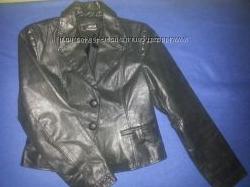 Кожаная куртка-жакет MORGAN