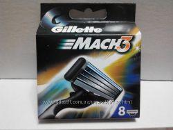 Gillette Mach 3 NEW 8шт Только Высокое качество