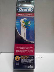 Oral-b FLOSS ACTION 3шт, Оригинал, Только Высокое качество