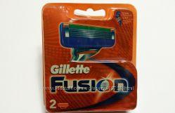 Лезвия Gillette Fusion 2 шт. Только Высокое качество , Колумбия