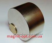 Неодимовый магнит 70x60сила 300кг