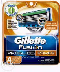 Fusion ProGlide Power 4 шт Только Высокое качество , Колумбия