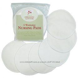 Многоразовые лактационные прокладки для груди из хлопка, 6 шт