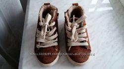 Модные утепленные кеды ботинки Zara