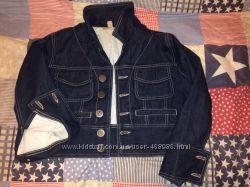 джинсовая курточка MNG