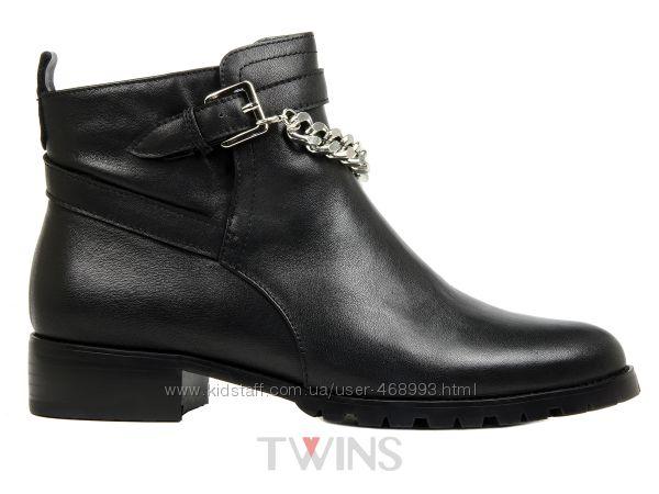 387af166c Кожаные женские демисезонные ботинки на низком ходу осень 2016. Женские  ботинки, ботильоны - Kidstaff   №15325252