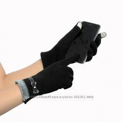 Элегантные женские перчатки для сенсорного телефона