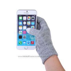 Перчатки вязаные для  сенсорного телефона