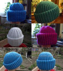 Вязаные шапки, шарфы, снуды и комплекты