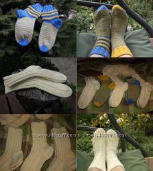 Вязаные носки для детей и взрослых на заказ