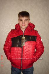 Демисезонная куртка на мальчика подростка