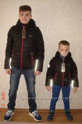 Куртка - трансформер аналог рейма хит  черная с116 по 170