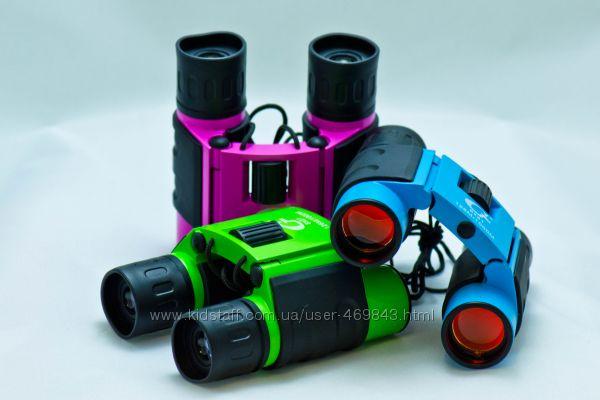 Бинокль 8х21 JAXY зеленый, голубой, серый, розовый