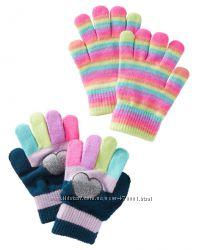 Перчатки, варежки Osh Kosh и Carters девочкам