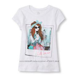 футболки  Children Place США размер 10-12 и 14 лет