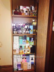 Очень много оригинальной парфумерии