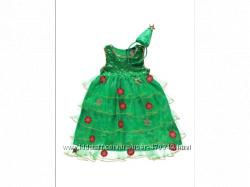 Сдам платье елочки на прокат для девочки 3-6 лет---50грн