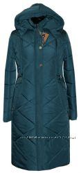 Удлиненные зимние пальто р. 50-66