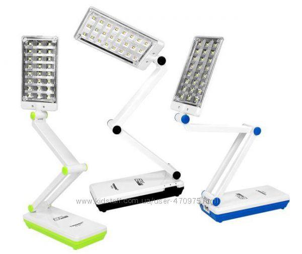 Аккумуляторные светодиодные настольные лампы TIROSS TS-53, 8 000 отзывов