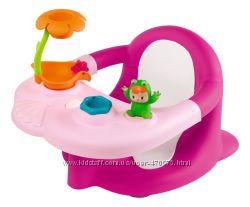Стульчик для купания Smoby Cotoons Жабка с игрушками 110605, 8 000 отзывов
