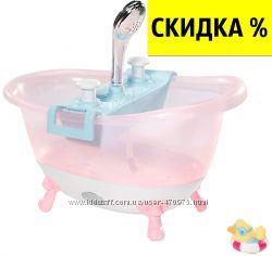 Интерактивная ванночка ванна Веселое купание Baby Born Zapf Creation 822258