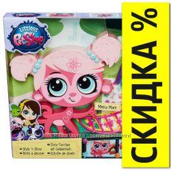 Игровой набор Укрась зверюшку Обезьянка Littlest Pet Shop Hasbro B0095