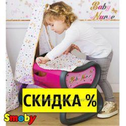 Колыбель кроватка для куклы Baby Nurse Gold Edition Smoby 220311