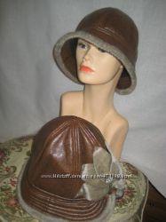 Продам тепленькие ажурную шапочку, кепку, шляпу