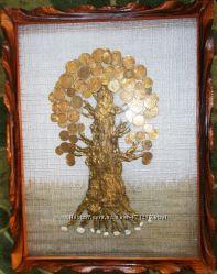 Продам картину Денежное дерево