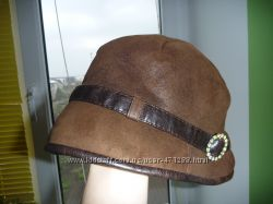 Симпатичная шляпка на зиму