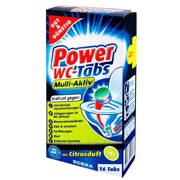 Таблетки для унитаза Power WC-Tabs Multi-Aktiv 16шт.