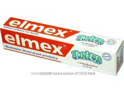 Детские зубные пасты Elmex -от 2-х до 12 лет. Германия