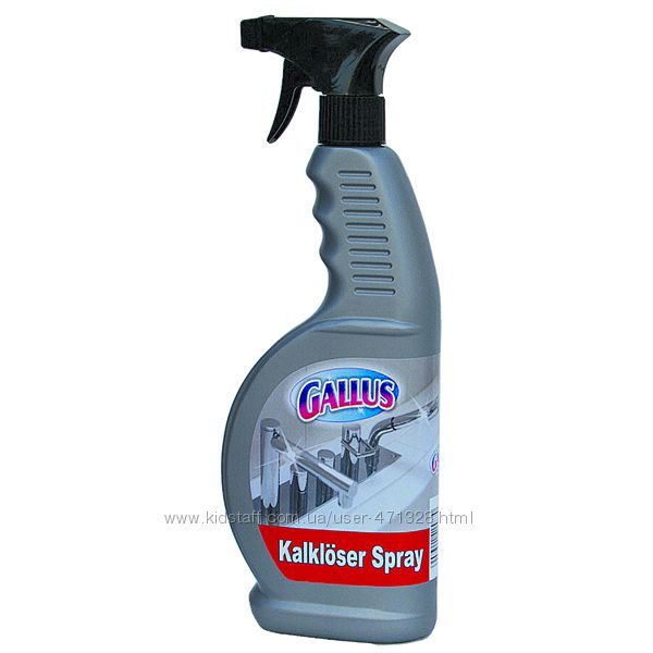 Спрей Gallus для чистки кранов.