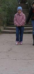 Меховая курточка на девочку. ZARA.