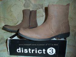 Фирменные мужские сапоги  DISTRICT 3 оригинал США 45 размер