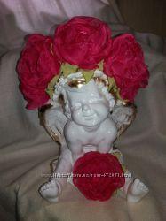 Набор Обруч, брошка с цветами и колье 2