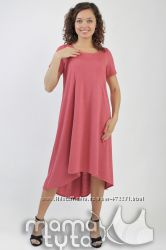 Платье колокольчик для беременных и кормящих мам ТМ МамаТута