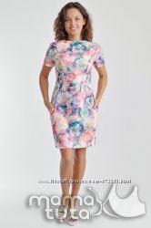 Платье летнее для беременных и кормящих в 3-х цветах
