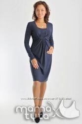 Платье узел для беременных и кормящих мам ТМ МамаТута
