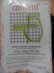 СП водорастворимого флизелина с рисунком Confetti