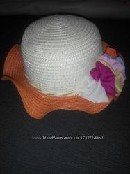 Соломенная шляпка для модницы