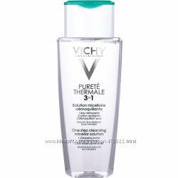 Vichy Purete Thermale мицеллярный раствор для снятия макияжа с лица и глаз