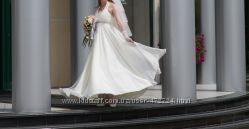 Свадебное платье, идеальное для беременных