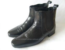Шикарные ботинки George Oliver сост. новых натур. кожа 44р