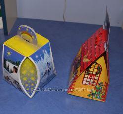 Подарункові картонні коробки