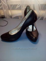 Кожаные туфли классика р. 40